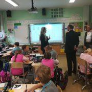 Gäste aus Deutschland an unserer Schule: Um zu lernen!