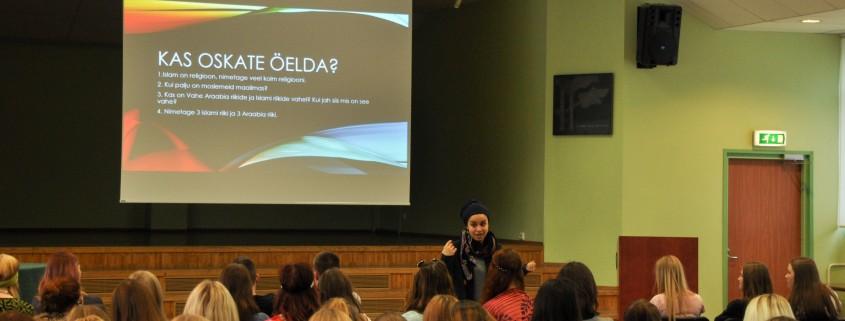 Islami ja Araabia kultuurist käis rääkimas Kristi Ockba