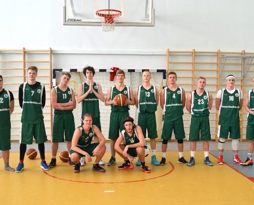 korvpallmeeskond 2016
