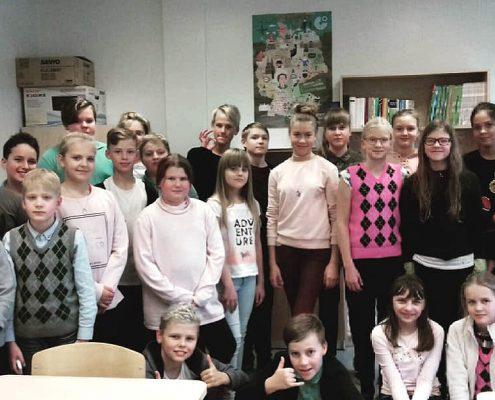 5.c klass kohtus Kelly Sildaruga