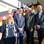 Saksa Välismaise Koolihariduse Keskuse juhataja Joachim Lauer külastas 29. septembril Tallinna Saksa Gümnaasiumit