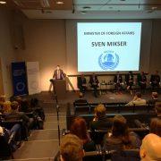 MUNOT 2017. Kõneleb välisminister Sven Mikser