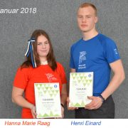 kuu parim sportlane - jaanuar 2018