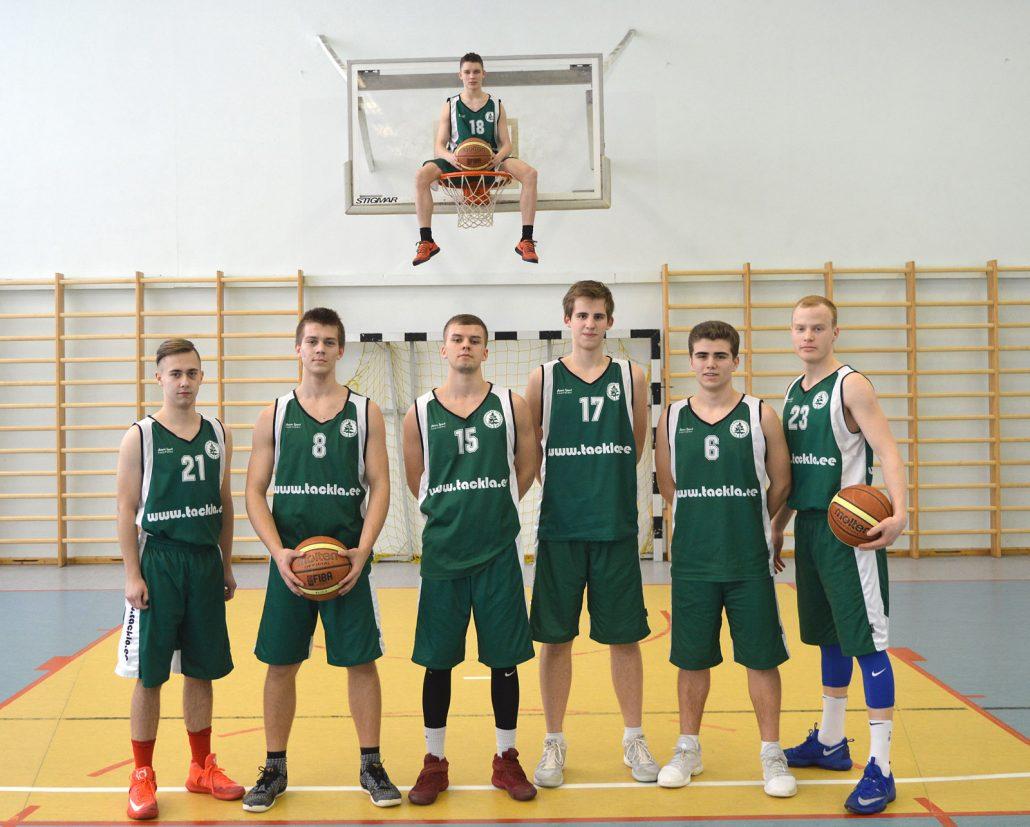 korvpallimeeskond 2018