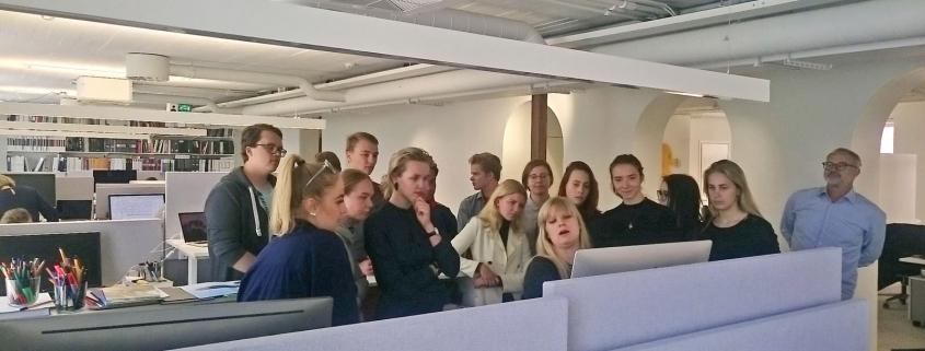Arhitektuuri valikkursuse õppekäik Helsingisse