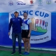 Liisa-Marie Lääne koos treeneri Aleksei Lipintsoviga