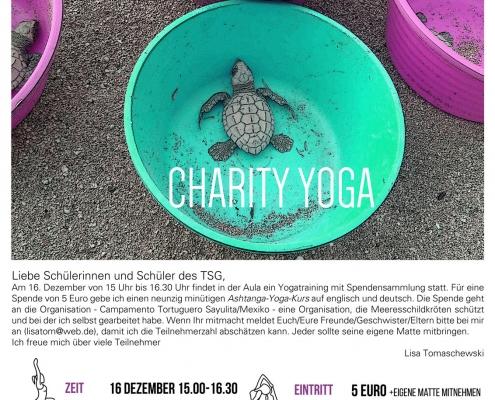 Charity Yoga 2018