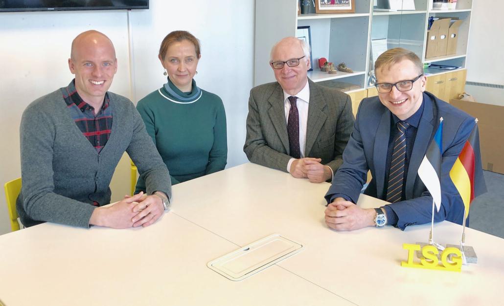 Tallinna Saksa Gümnaasium on rahvusvaheliseks praktikabaasiks Kölni Ülikooli üliõpilastele