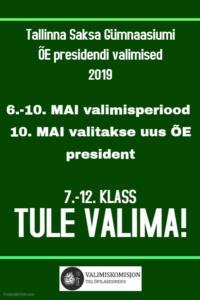 ÕE presidendi valimised