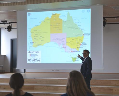 Austraalia Monashi ülikooli turismiõppetooli lektor Dr. Jeff Jarvis