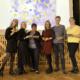 rootsi keele õpilased ja õpetaja Kaja Reissaar
