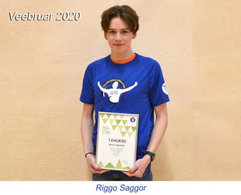 kuu parim sportlane - veebruar 2020