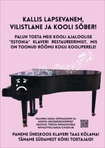 klaver kõlama!
