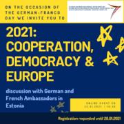 demokraatia ja Euroopa