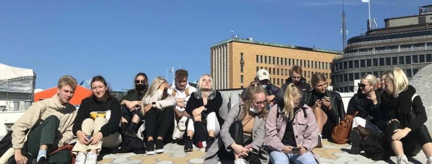 Arhitektuuri valikkursuse õppekäik Helsingisse 2021